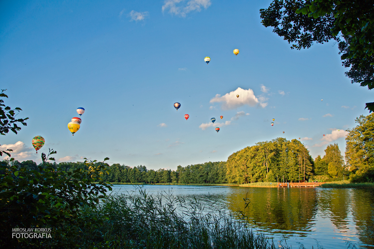 Balony nad Szczecinkiem po raz ósmy.